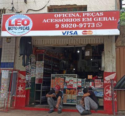 oficina Léo Moto Peças em Sabará