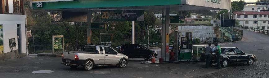 Posto Petrobrás Quintal do Ouro -EM Sabará