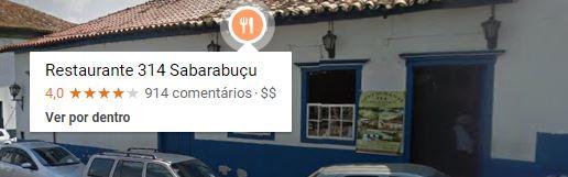 Restaurante 314 Sabarabuçu - EM Sabará