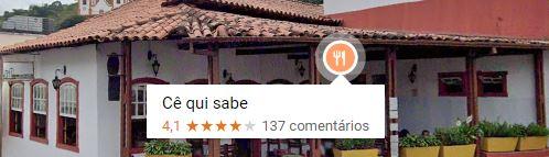 Restaurante Cê qui sabe - EM Sabará