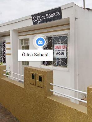 Ótica Sabará localizada em Sabará
